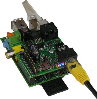 PoE module for Raspberry Pi A/B